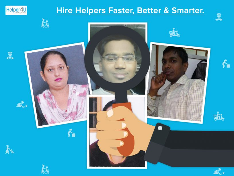 Safe hiring of Helper on Helper4U