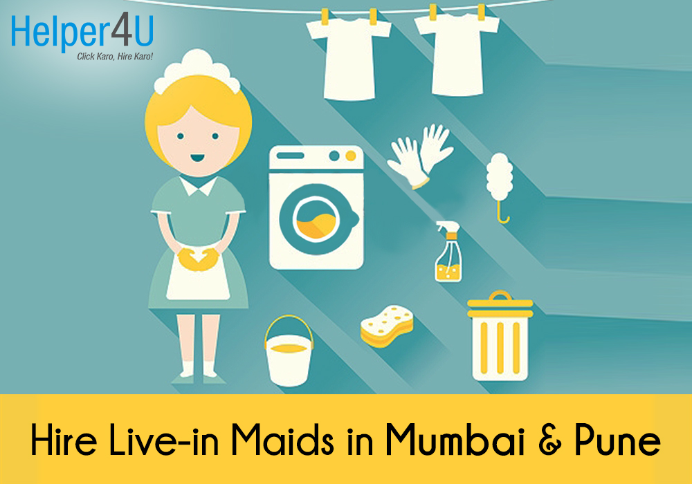 hire full time maids in mumbai and pune