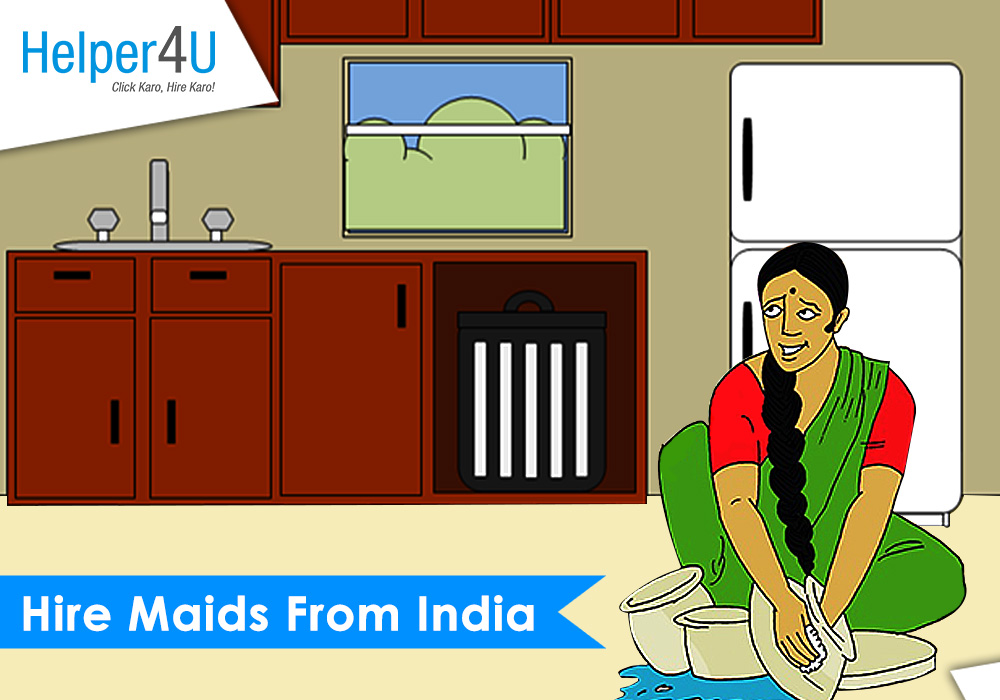 hire maids from india