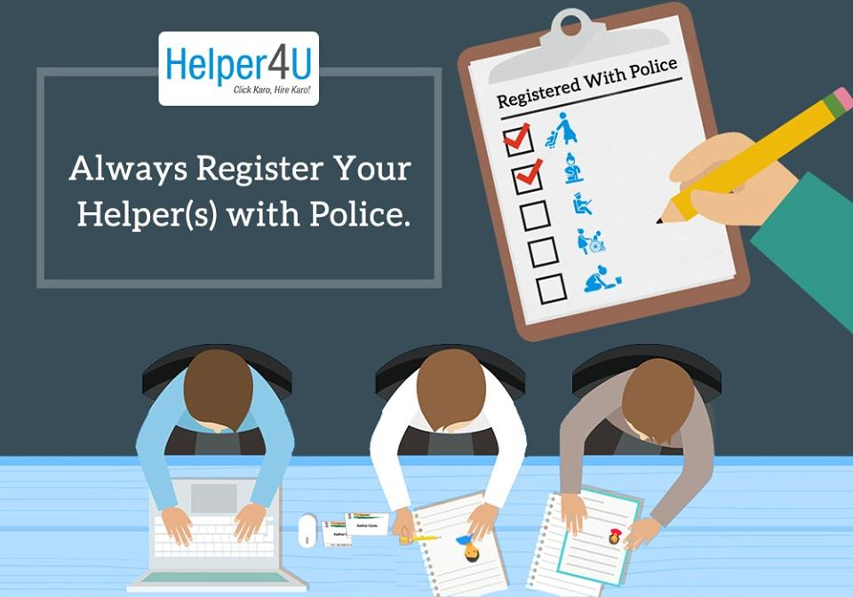 Verify you helper with Police Verification