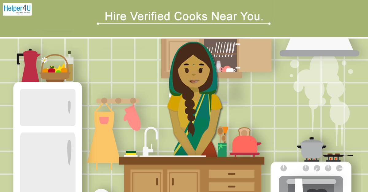 Hire Domestic Cook/Chef on Helper4U