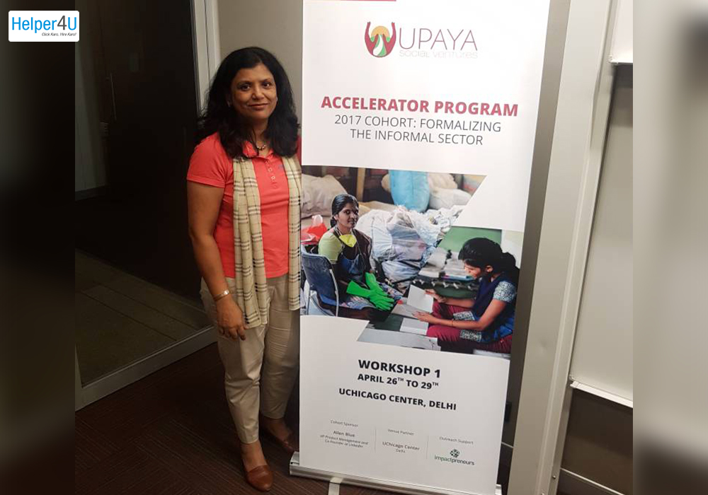 Helper4U at Upaya Social Ventures New Accelerator Program