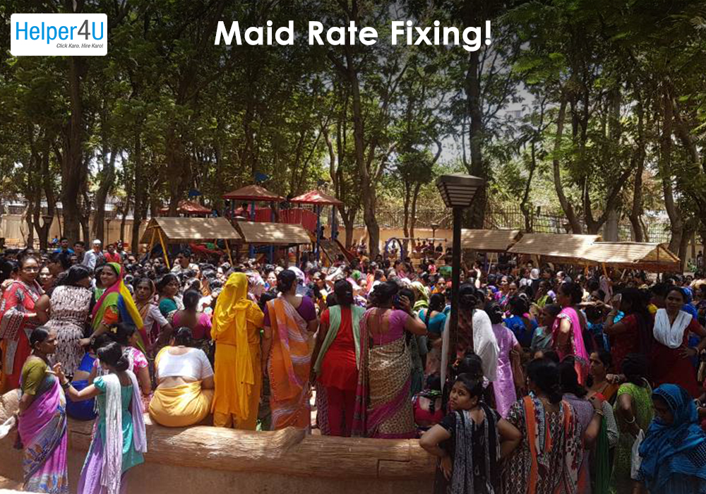 Maid Rate Fixing