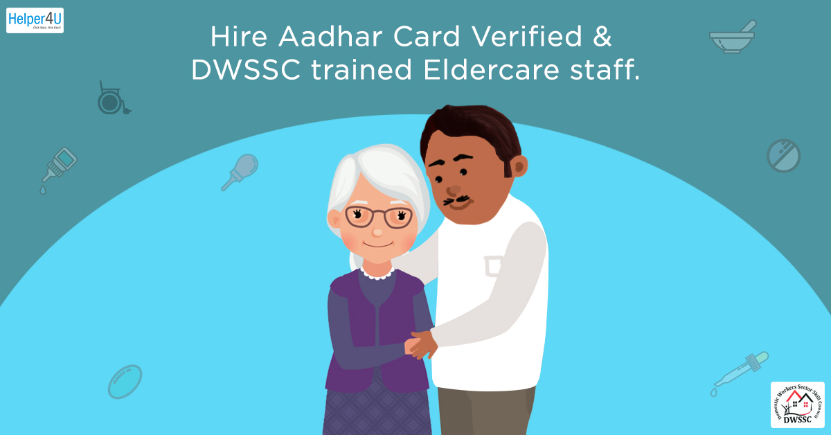 Hire Verified Eldercare staff near you