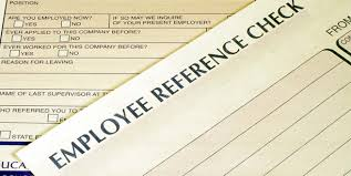 Check references of employees