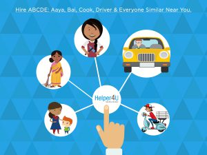 hire maid,cook,driver,delivery boy,nanny