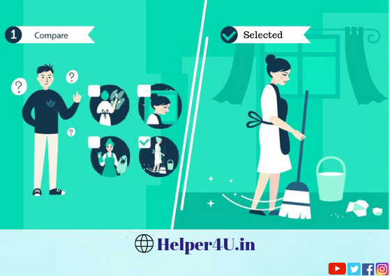 Compare maid candidates and select the best on Helper4U