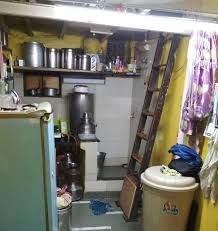 TYpical room of a domestic worker