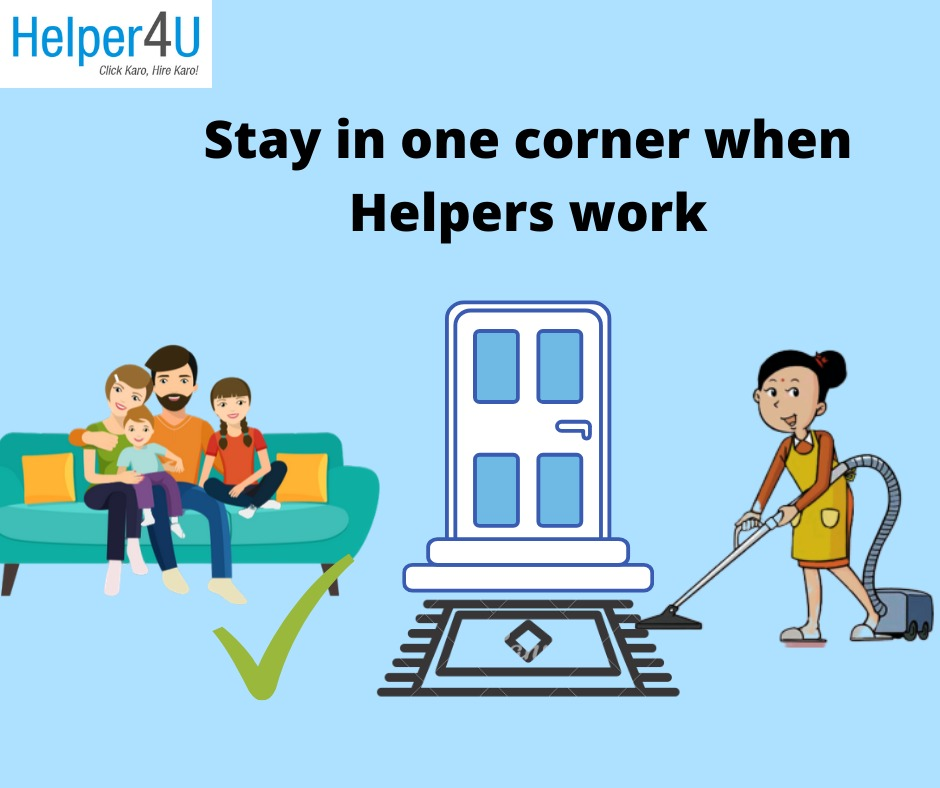 Maintain social distance with and stay safe when you hire maids