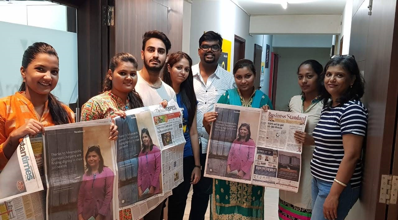 Helper4U in newspapers
